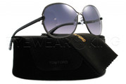New Authentic Tom Ford Gunmetal Sunglasses Frame TF 222 Leila 08B Angle-1 | Eyewearking.com