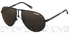 New Authentic Carrera 1 Semi Matte Black Sunglasses PDE
