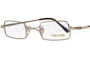New Authentic Tom Ford Shiny Gold Eyeglasses Frame TF 5170 028 Angle-1 | Eyewearking.com