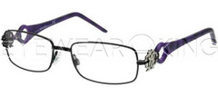 New Authentic Roberto Cavalli Matte Black Eyeglasses Frame RC 0550 001 Angle-1 | Eyewearking.com
