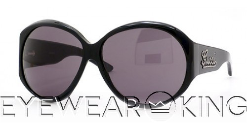 New Authentic Gucci Shiny Black Sunglasses GG 2927 Strass 807 Angle-1 | Eyewearking.com
