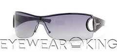 New Authentic Gucci Ruthenium Grey Sunglasses Frame GG 2712 Strass RFU Angle-1 | Eyewearking.com