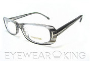 New Authentic Tom Ford FT 5121 (020) Grey Marble Eyeglass Frame