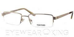 New Authentic Tom Ford FT 5167 (028) Shiny Gold Eyeglasses