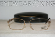 New Authentic Shiny Gold Eyeglasses Frame Mont Blanc MB 306 032 Angle-1 | Eyewearking.com