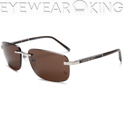 New Authentic Shiny Silver Sunglasses Frame Mont Blanc MB 269S 18E Angle-1 | Eyewearking.com