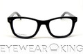 New Authentic Shiny Black Eyeglasses Frame DSquared2 DQ 5005 001 Angle-2 | Eyewearking.com