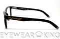 New Authentic Shiny Black Eyeglasses Frame DSquared2 DQ 5005 001 Angle-3 | Eyewearking.com