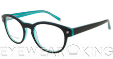 New Authentic Black on Turquoise Eyeglasses Frame DSquared2 DQ 5026 050 Angle-1 | Eyewearking.com