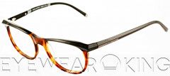 New Authentic Black on Tortoise Eyeglasses Frame DSquared2 DQ 5033 005 Angle-1 | Eyewearking.com