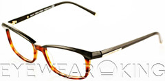 New Authentic Black on Tortoise Eyeglasses Frame DSquared2 DQ 5034 005 Angle-1 | Eyewearking.com