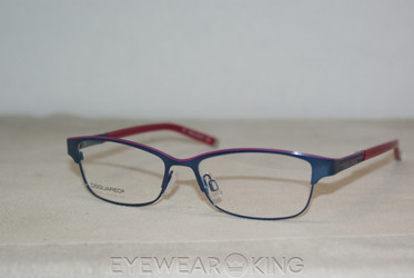 New Authentic Blue on Red Eyeglasses Frame DSquared2 DQ 5002 091 Angle-1 | Eyewearking.com