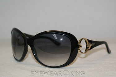 New Authentic Shiny Black Sunglasses Frame Gucci GG 3030 807 Angle-1 | Eyewearking.com