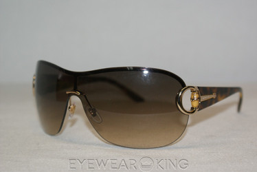 New Authentic Shiny Gold Havana Sunglasses Frame Gucci GG 2875 IP3-YY Angle-1 | Eyewearking.com