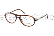 New Authentic Tortoise Aviator Eyeglasses Frame Tom Ford TF 5129 054 Angle-1 | Eyewearking.com