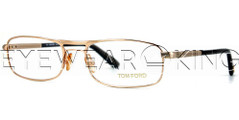 New Authentic Shiny Gold Eyeglasses Frame Tom Ford TF 5032 0772 Angle-1 | Eyewearking.com