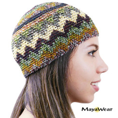 KUF01  - Beanie/Kufi. 100% Cotton. Made in Guatemala.