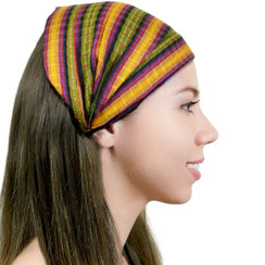 "BAND160 - ""Amber Oaks"" - 100% Cotton. Made in Guatemala. https://www.mayawear.com"
