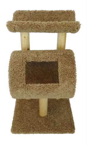 New Cat Condos Kitty Cat Tree-Brown