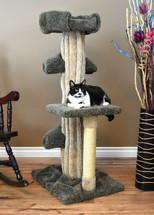 Prestige Cat Trees Unique Large Cat Tower -Green