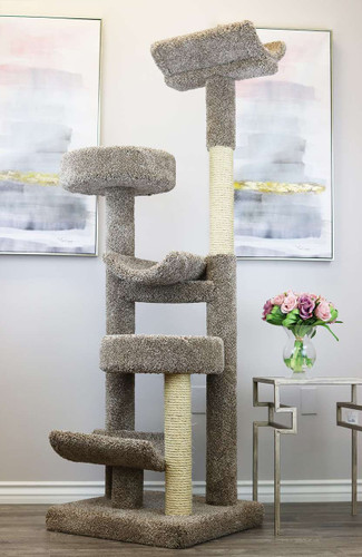 Prestige Cat Trees Staggered Cat PlayTower