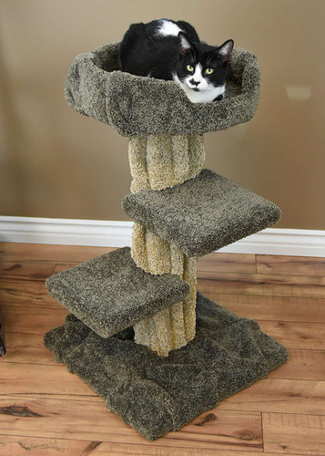 Premier Cat Play Tree-Green