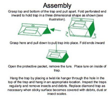 Trap assembly instructions