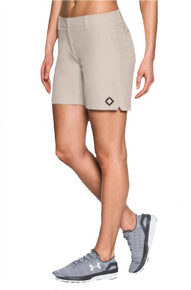 "Ladies Team Chino Short - ""WINDOW"" [colors: khaki, navy(Nov.)]"
