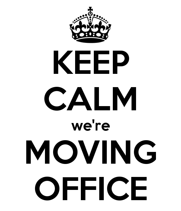 announcement keep calm we re moving office sophie toffee