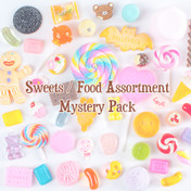 Cabochons Decoden Assortment Mix Grab Bag (Sweets) - 20pc
