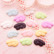 Angel Wings Kawaii Cabochon Decoden - 14 pieces (7 pairs)
