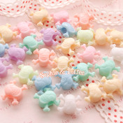 Skull Beads in Pastel Beads Color (Big Hole)