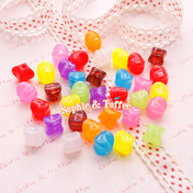 Candy Beads in Translucent Beads