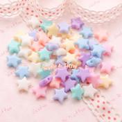 Pastel Star Beads (10mm)