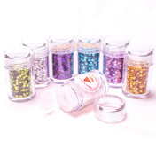 Holographic Star Glitter - 8 Colors Pack (10g ea)
