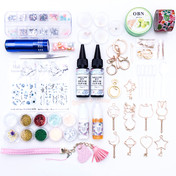Pre-Order: Bezel Metal Charm Resin Craft Bundle Kit (New!)