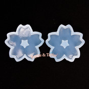 Big Cherry Blosson Flower Silicone Resin Mold - 1 piece