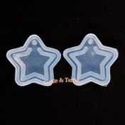 Star Charm Silicone Resin Mold - 1 piece