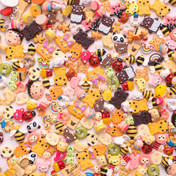 Character Theme Cabochons Grab Bag - 20 pieces