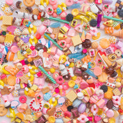 Sweets Theme Cabochons Grab Bag - 20 pieces