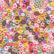 Doughnuts Theme Cabochons Grab Bag - 20 pieces