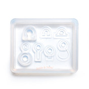 Findings Blank Bail Eye Pins Silicone Resin Mold