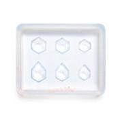 Mini Hexagon Gems Silicone Resin Mold