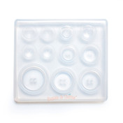 Buttons Silicone Resin Mold