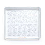 Pre-Order: Alphabets Silicone Resin Mold