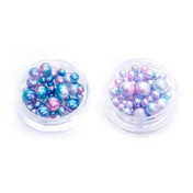 Gradient Mermaid Pastel Beads (No Hole) - 2 sets