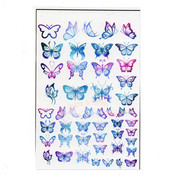 Enchanting Butterflies Gradient Design Film (for UV Resin)