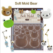 Bear Soft Silicone Mold (made in Japan)
