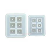 Square Cube Bead Silicone Mold