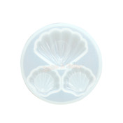 Seashell Charm Silicone Mold (3 Cavity)